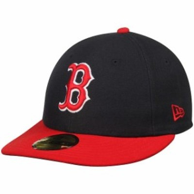 New Era ニュー エラ スポーツ用品  New Era Navy Boston Red Sox 2T Patched Low Profile 59FIFTY Fitted Hat