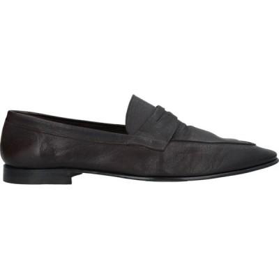 バレット BARRETT メンズ ローファー シューズ・靴 loafers Dark brown