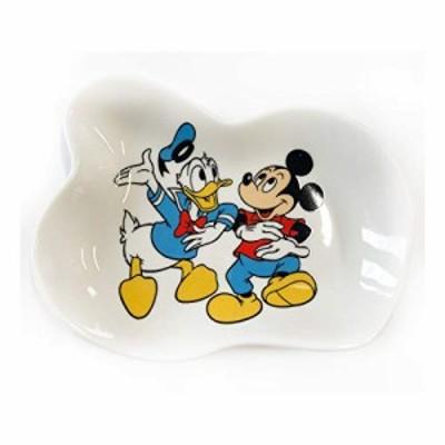 ディズニー 変型小皿 ミッキーマウス ドナダンス ノスタルジカ
