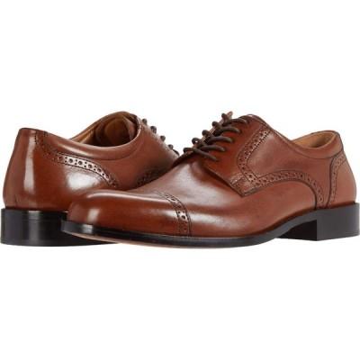 ジョンストン&マーフィー Johnston & Murphy メンズ 革靴・ビジネスシューズ シューズ・靴 Harmon Cap Toe Tan Full Grain Leather
