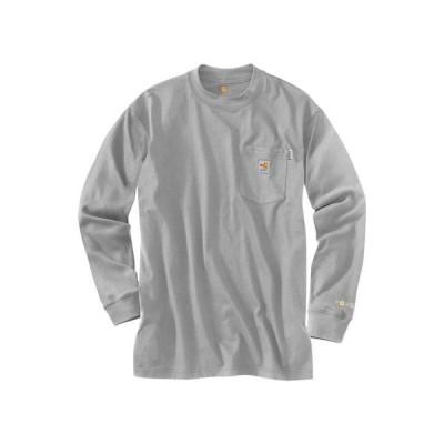 カーハート メンズ シャツ トップス Flame-Resistant Force Cotton Long Sleeve T-Shirt