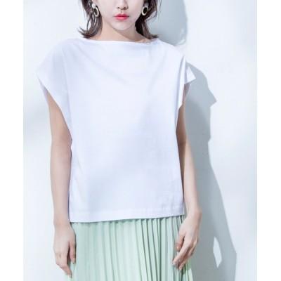 Million Carats / 【STYLE4】接触冷感 2Wayフレンチカットソー WOMEN トップス > Tシャツ/カットソー