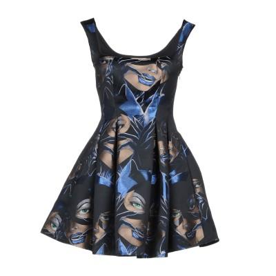 PHILIPP PLEIN ミニワンピース&ドレス ブラック XS ポリエステル 100% ミニワンピース&ドレス