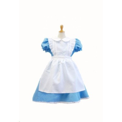 不思議の国のアリス 子供用 アリス コスチューム アリス コスプレ キッズ かわいい 衣装 コスプレ ハロウィン