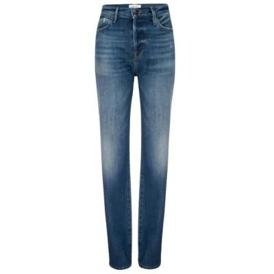 フレーム デニム ボトムス レディース Le Pixie Hollywood High Waist Ankle Skinny Jeans Calhoun