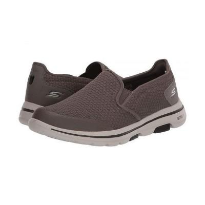 SKECHERS Performance スケッチャーズ メンズ 男性用 シューズ 靴 スニーカー 運動靴 Go Walk 5 - Apprize - Khaki