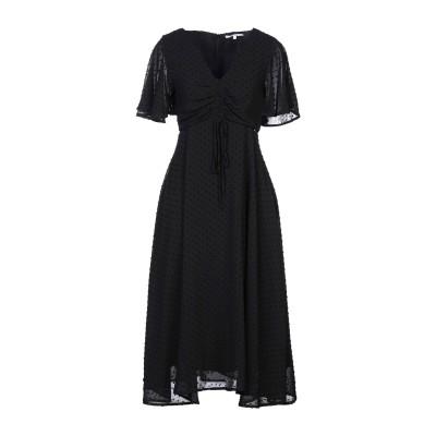 KORALLINE 7分丈ワンピース・ドレス ブラック 40 ポリエステル 100% 7分丈ワンピース・ドレス