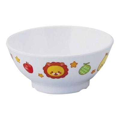 メラミンお子様食器 「みんなともだち。」 飯椀 YMB-1(7-2100-1001)