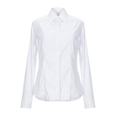 カリバン CALIBAN シャツ ホワイト 42 コットン 70% / ナイロン 27% / ポリウレタン 3% シャツ