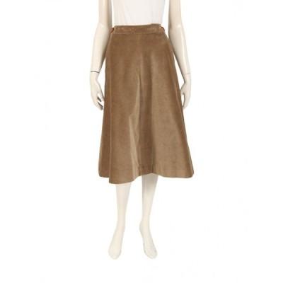 マディソンブルー MADISONBLUE スカート カーキブラウン コーデュロイ MB174-6010 レディース 中古