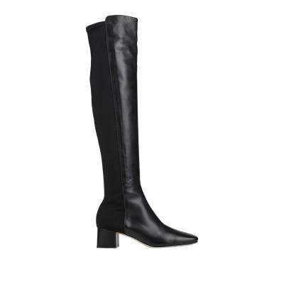 ジャンヴィト・ロッシ GIANVITO ROSSI ブーツ ブラック 39 革 / 紡績繊維 ブーツ