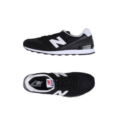 ニュー・バランス NEW BALANCE スニーカー&テニスシューズ(ローカット) ブラック 7 革 / 紡績繊維 スニーカー&テニスシューズ(ロー