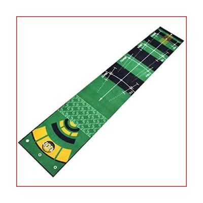 Golf Training Aid Mat, Mini Golf Putting Green, for Kids, Toddlers, Golf Beginner, 118 X 20in【並行輸入品】