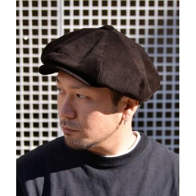 ANCHOR by ROTAR/VIVIFY / QUARTER GALLERY コーデュロイキャスケット MEN 帽子 > キャップ