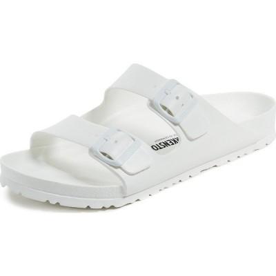 ビルケンシュトック アリゾナ EVA サンダル メンズ ホワイト レギュラーフィット 普通幅 Birkenstock Arizona Sandals White
