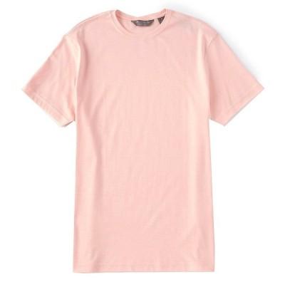 クレミュ メンズ シャツ トップス Daniel Cremieux Signature Mirco-Stripe Short-Sleeve Tee Soft Coral