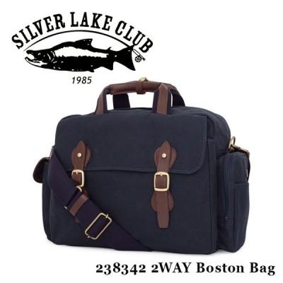 シルバーレイククラブ SILVER LAKE CLUB ボストンバッグ 238342   9号帆布ネイビー 2WAY ショルダーバッグ メンズ 撥水 9号帆布ネイビー [PO10]