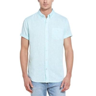 ウェザープルーフ メンズ シャツ トップス Men's Solid Short Sleeves Shirt