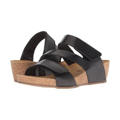 Eric Michael West Black Women Slide Sandal Size EU 39-8.5-9 USA