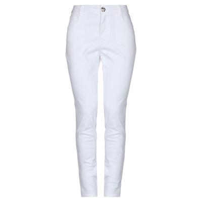 CRISTINAEFFE パンツ ホワイト 26 コットン 98% / ポリウレタン 2% パンツ