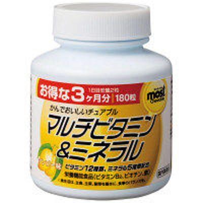 オリヒロMOSTチュアブル マルチビタミン&ミネラル 90日分 180粒 オリヒロ サプリメント