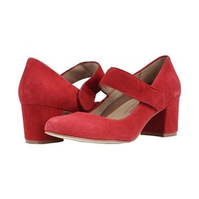 Walking Cradles ウォーキングクレイドル レディース 女性用 シューズ 靴 ヒール Jackie-2 - Red Suede