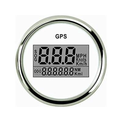 ELING Universal Digital GPS Speedometer Speedo Gauge for Car Motorcycle Tru好評販売中