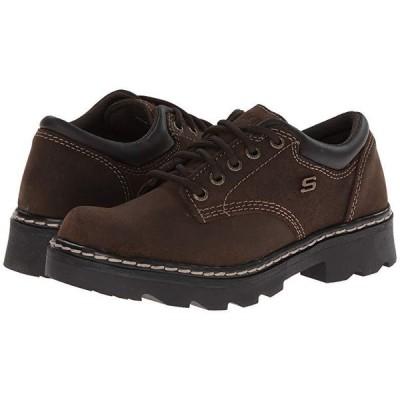 スケッチャーズ Parties - Mate レディース オックスフォード Chocolate Scuff Resistant Leather