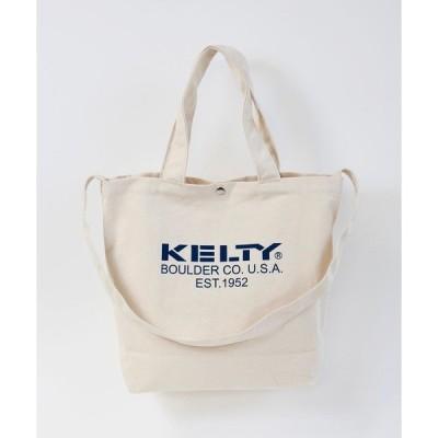 トートバッグ バッグ 【KELTY/ケルティ】コットンショルダートートバッグ / SHOULDER TOTE