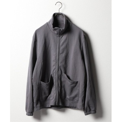 【ジャーナルスタンダード】  SUPIMA FLEECE TRAIL WARM UP メンズ グレー S JOURNAL STANDARD
