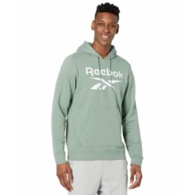 リーボック メンズ パーカー・スウェット アウター Training Essentials Sweatshirt Harmony Green