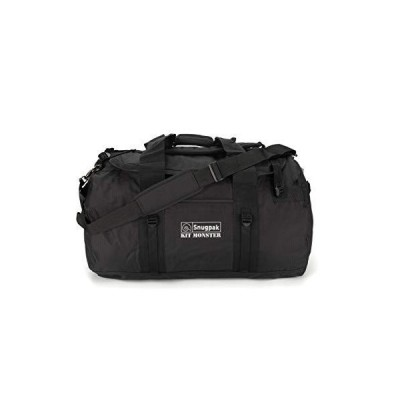 Snugpak | Original Kitmonster 120L | Holdall | 600D Polyester |Heavy Duty (Black, 120L) 並行輸入品