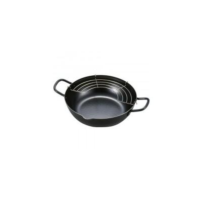 天ぷら鍋 24cm 天ぷら鍋 日本製 揚げ物 鍋 ih対応 揚げ物用鍋
