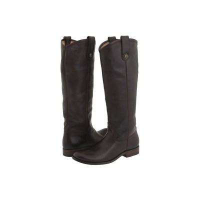フライ Frye レディース ブーツ シューズ・靴 Melissa Button Dark Brown (Soft Vintage Leather)