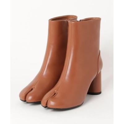 atmos pink / Liberty doll / 足袋ブーツ ショートブーツ 7cm円柱ヒール 美脚ブーツ(9043) WOMEN シューズ > ブーツ