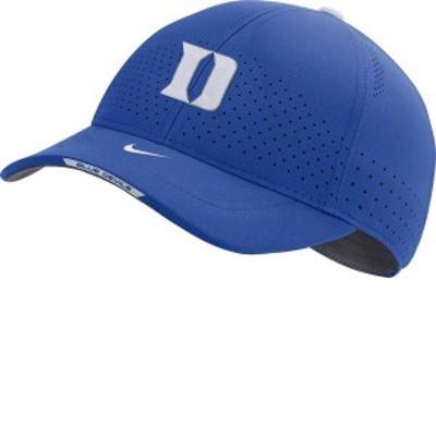 ナイキ メンズ 帽子 アクセサリー Nike Men's Duke Blue Devils Duke Blue AeroBill Swoosh Flex Classic99 Football Sideline Hat