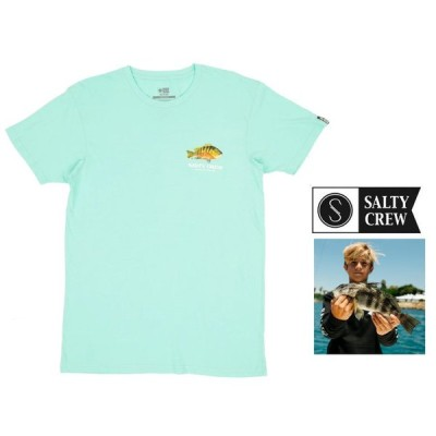 SALTY CREW(ソルティークルー) 半袖プリント クルーネックTシャツ color:SEA FOAM(シーフォーム)