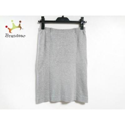 ドゥーズィエム DEUXIEME CLASSE スカート サイズ36 S レディース 美品 グレー     スペシャル特価 20200509