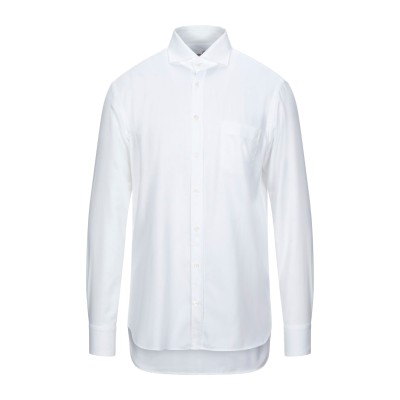 VAN LAACK シャツ ホワイト 36 コットン 100% シャツ