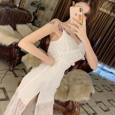 キャバ ドレス キャバドレス キャバワンピ キャバ衣装 ワンピース ミディアムドレス カット ギャザー キュート ストレッチ ドット ハート