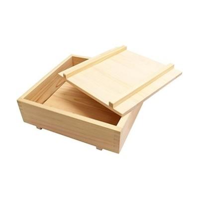 市原木工所 押し寿司型 ヒノキ 樹婦人 押し寿司器 箱寿司 10号 30×30×8.5cm