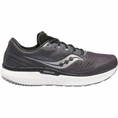 サッカニー Saucony メンズ ランニング・ウォーキング シューズ・靴 triumph 18 Charcoal/White