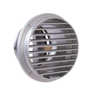 西邦工業 SEIHO SVD100AC 外壁用アルミ製換気口 (ベントキャップ) 厚型 防火ダンパー付 低圧損