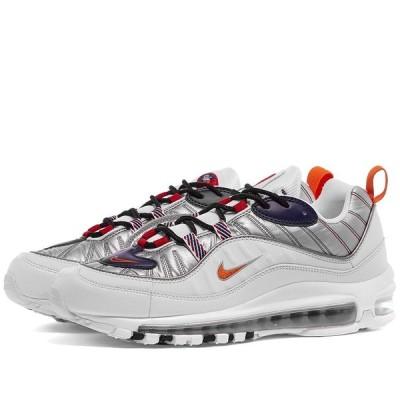 ナイキ Nike レディース スニーカー エアマックス 98 シューズ・靴 Air Max 98 Premium W White/Starfish/Grey/Red