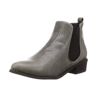 [リバティー ドール] サイドゴア ブーツ 5448 レディース グレー 24 cm