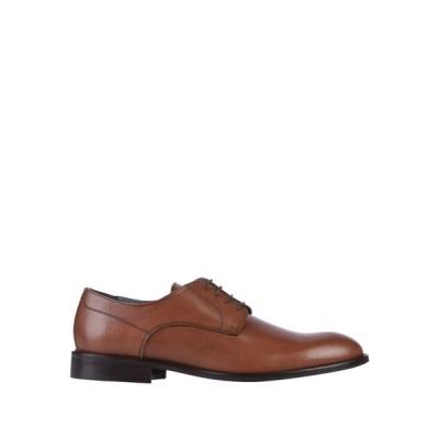 ポリーニ POLLINI メンズ シューズ・靴 laced shoes Brown