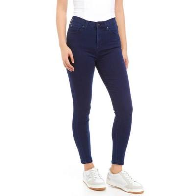セレブリティピンク レディース デニムパンツ ボトムス Junior's High Rise Skinny Jeans