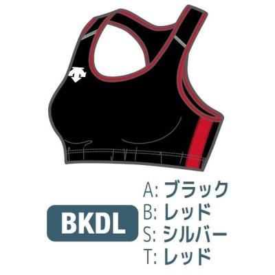デサント カスタムオーダー受注生産 ブラトップ(レディス) 陸上・ランニング ウエア ORN5120W-BKDL ベースカラー:ブラック