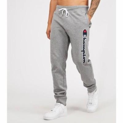 チャンピオン Champion メンズ ジョガーパンツ ボトムス・パンツ Linear Logo Jogger Grey