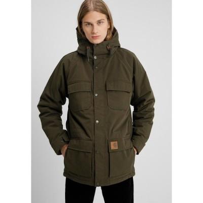 カーハート ジャケット&ブルゾン メンズ アウター MENTLEY - Winter jacket - cypress